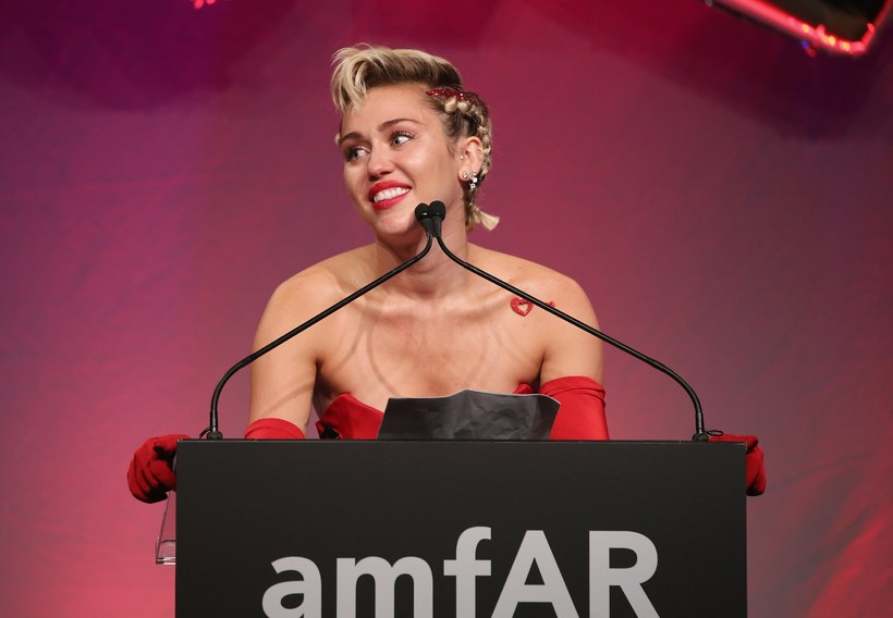 Miley Cyrus er ekki hrifin af Donald Trump.
