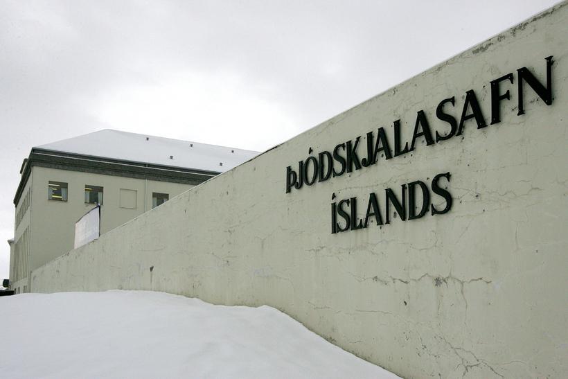 Þjóðskjalasafn Íslands á Laugaveginum.