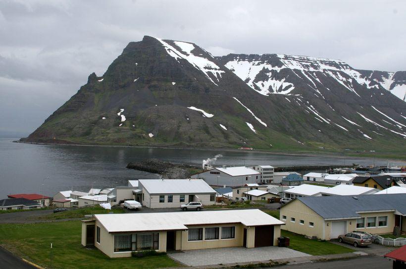 Bolungarvík á Vestfjörðum.