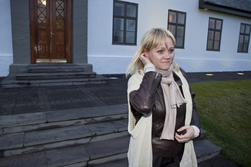 Katrín Júlíusdóttir tilkynnti að hún myndi hætta á þingi eftir ...