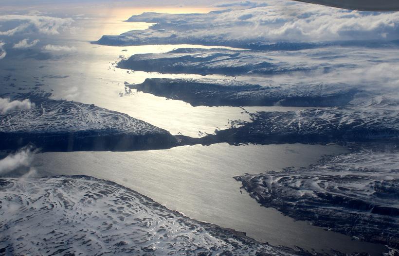 Frá Vestfjörðum. Áfram verður töluverður vindur í landshlutanum.