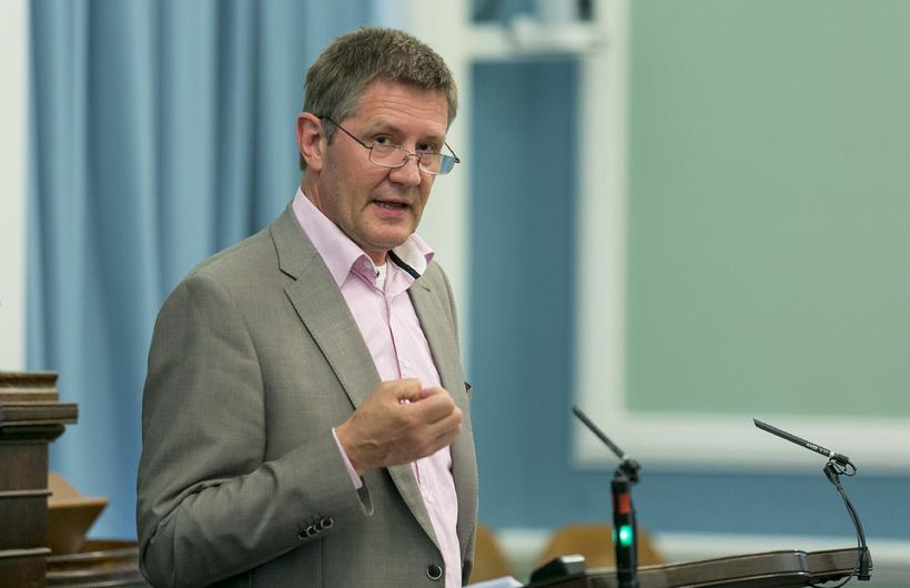 Björn Valur Gíslason, varaformaður VG.