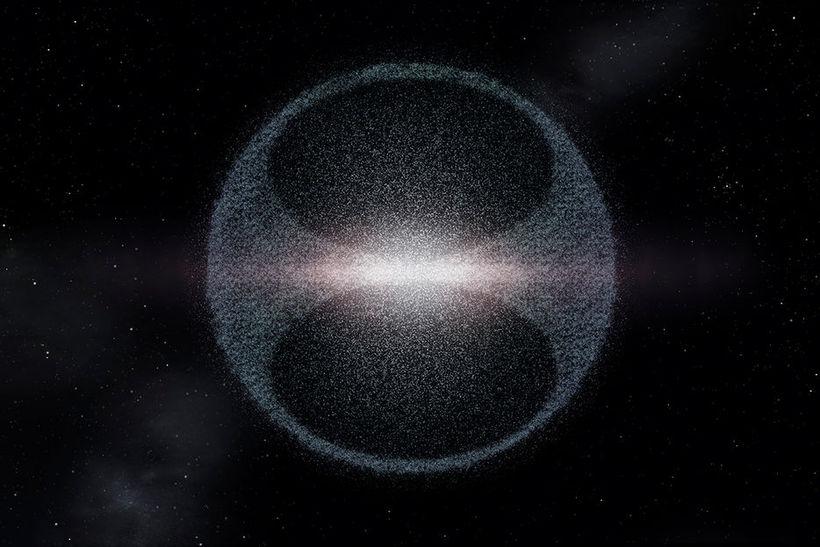 Teikning af Oortskýinu.
