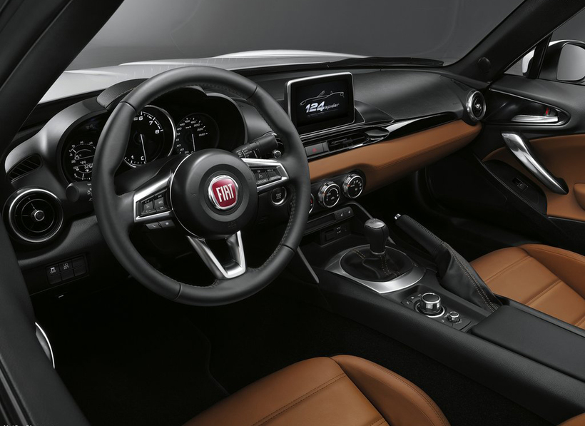 Innan í Fiat-bíl. Fiat Chrysler þurfti að innkalla 1,4 milljónir ...