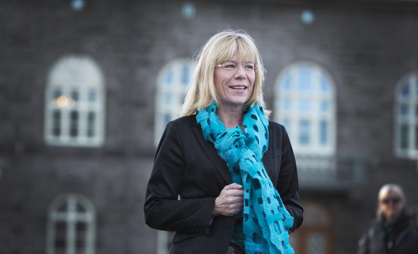 Vigdís Hauksdóttir, formaður fjárlaganefndar.