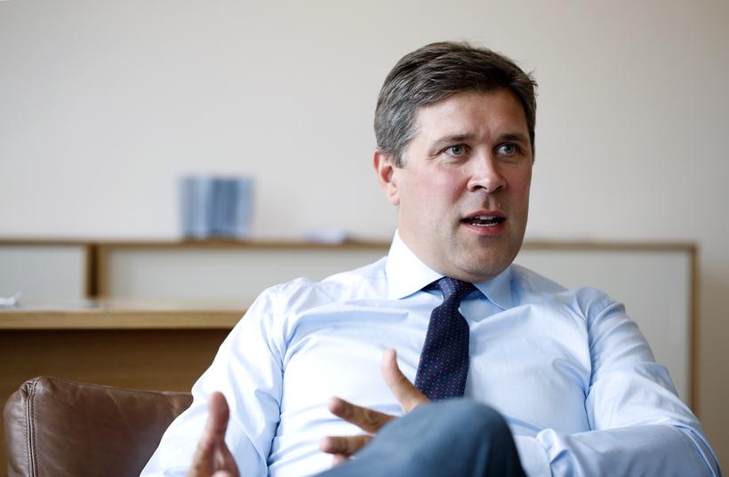 Finance Minister Bjarni Benediktsson.