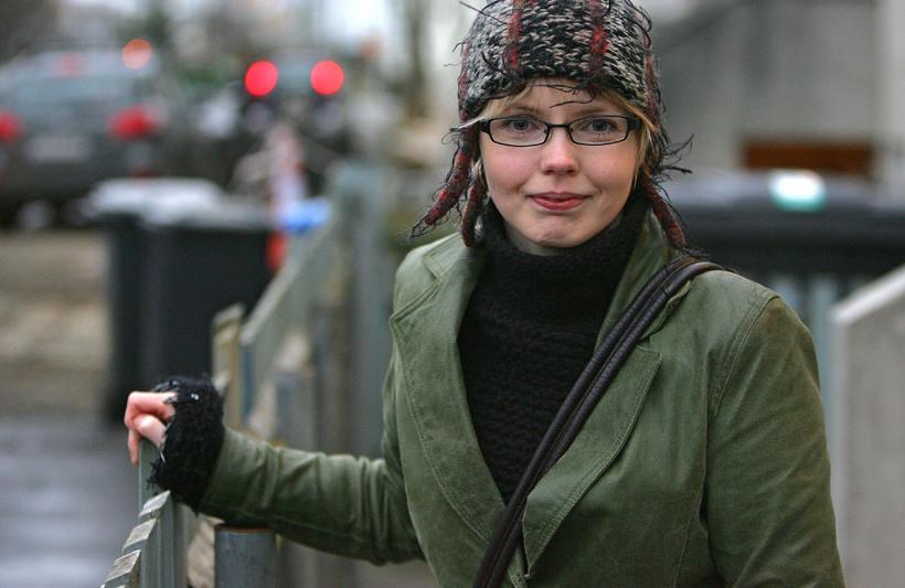 Steinunn Þóra Árnadóttir þingmaður og fulltrúi Vinstri grænna í utanríkismálanefnd.