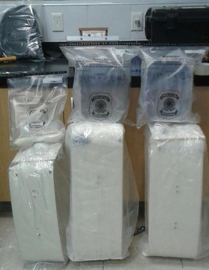 4 kg af kókaíni sem fannst á Íslendingum í Fortaleza ...