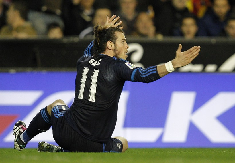 Gareth Bale er ekki sáttur við að missa Rafael Benítez.