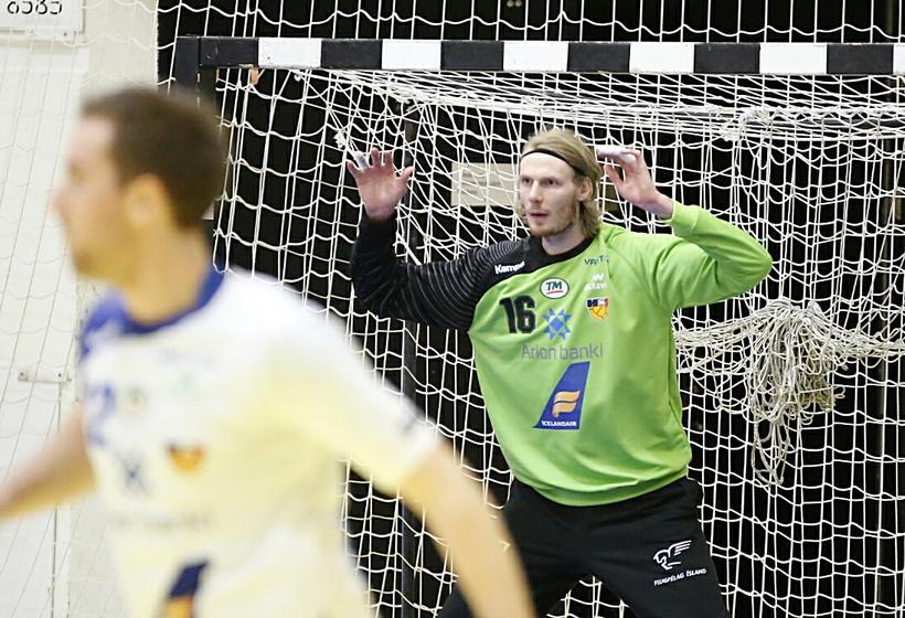 Aron Rafn Eðvarðsson og Stefán Rafn Sigurmannsson fara báðir til ...