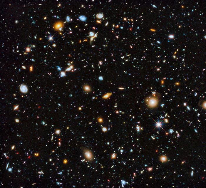 Hubble eXtreme Deep Field er dæmi um getu Hubble til ...