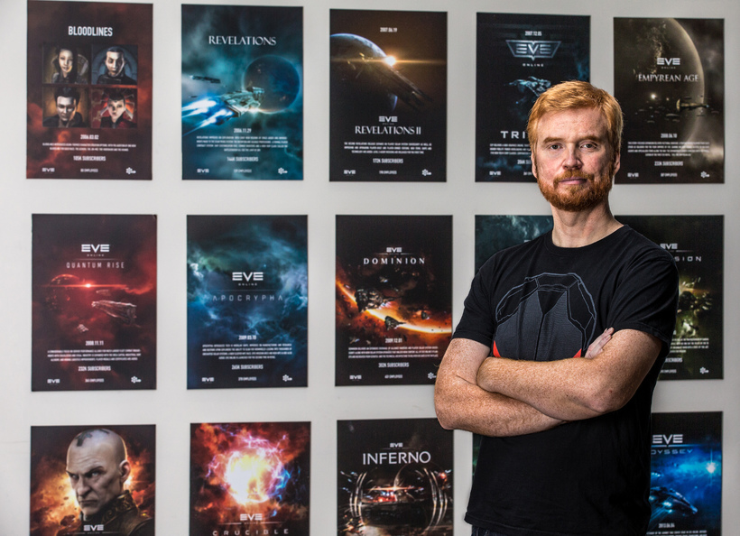 Eve Online Dev Quits VR