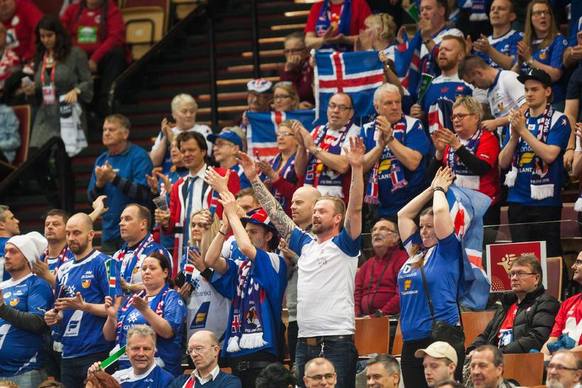 Ísland hefur fengið góðan stuðning í fyrstu tveimur leikjunum. Í ...
