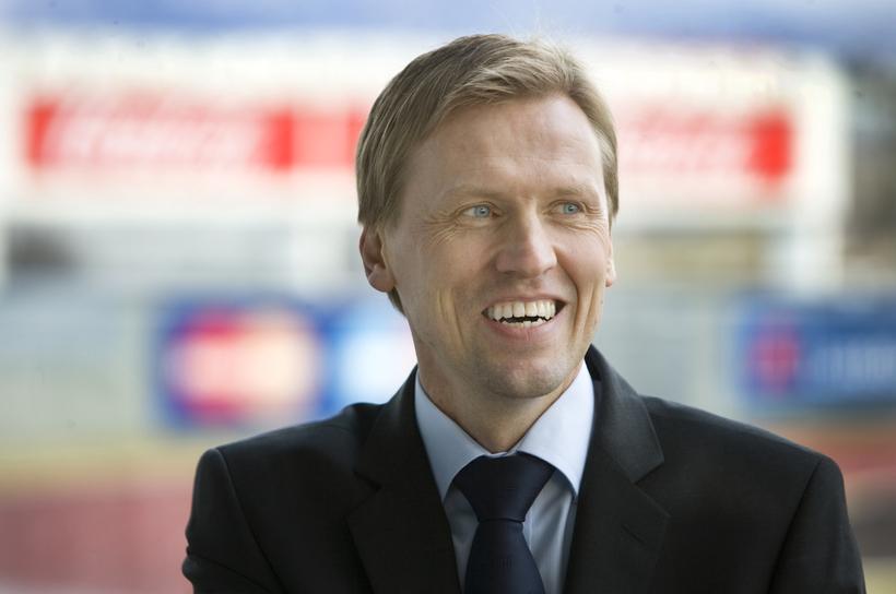 Geir Þorsteinsson formaður KSÍ.