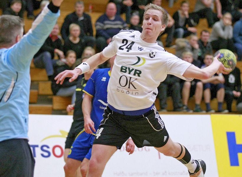 Halldór Guðjónsson í leik með FH.