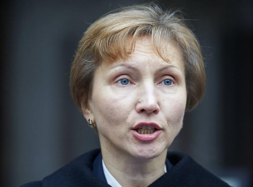 Marina Litvinenkó, ekkja njósnarans fyrrverandi