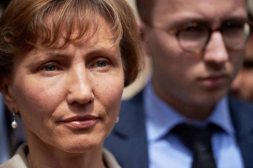 Anatolí Litvinenkó með móður sinni Marinu.