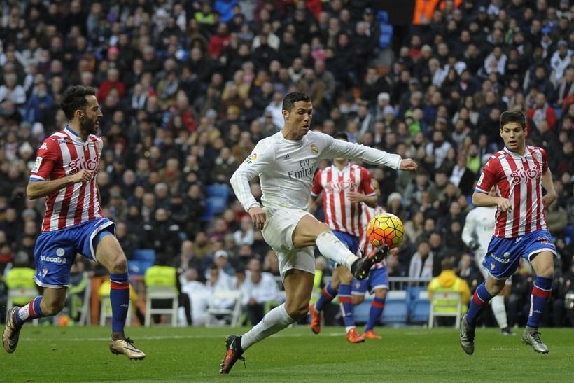 Cristiano Ronaldo í bann.