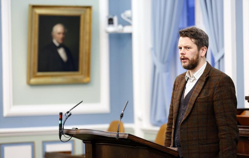 Guðmundur Steingrímsson þingmaður Bjartrar framtíðar.