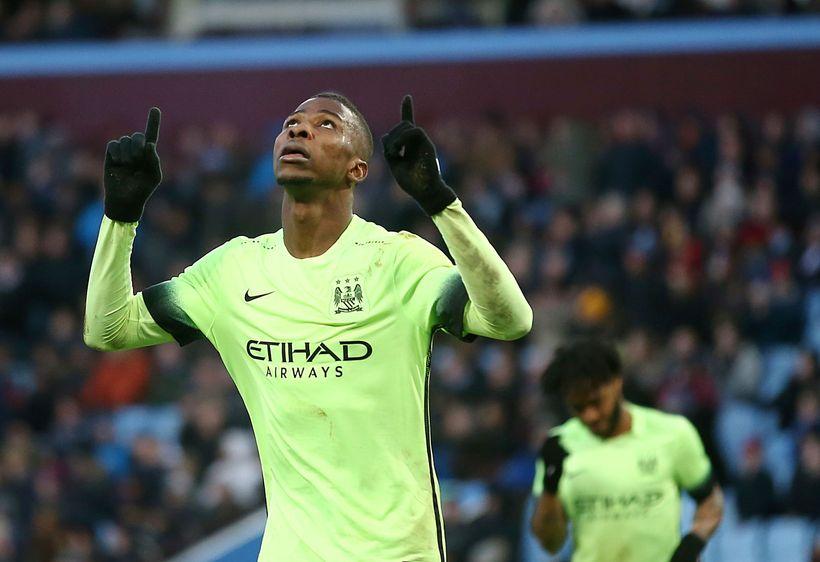 Nígeríski framherjinn Kelechi Iheanacho er kominn til Leicester frá Manchester ...
