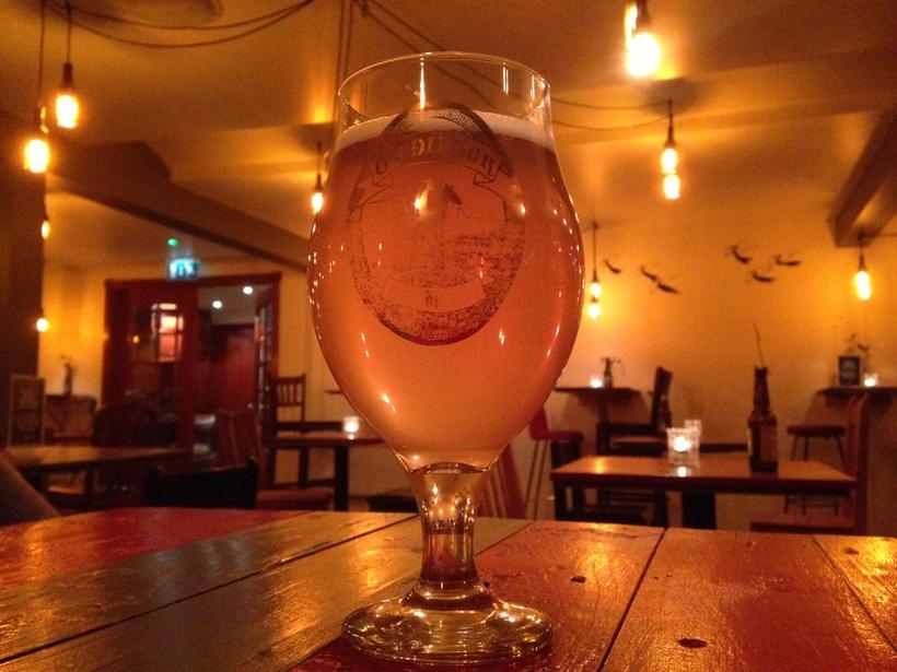 Skyrgosi was elected the best at last years Hólar Beer ...