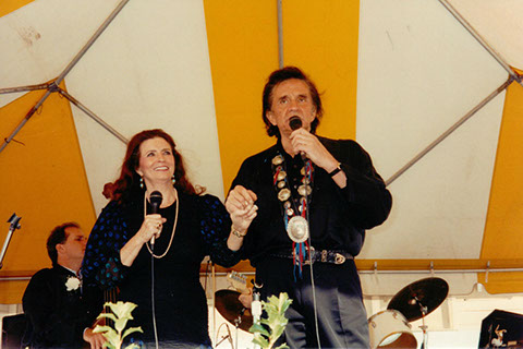 June Carter og Johnny Cash