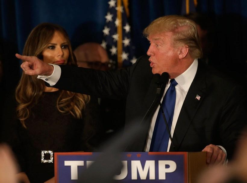 Stórsigur Trump hefur vakið athygli í ljósi þess að hann ...