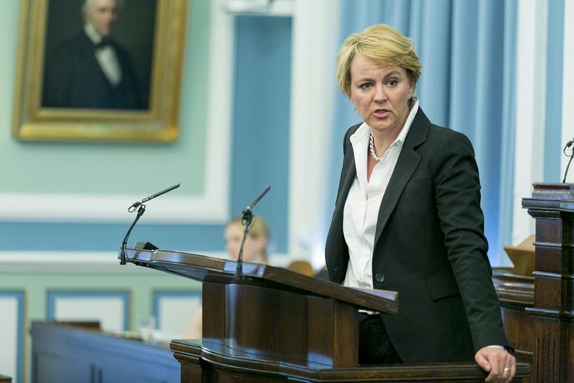 Hanna Birna Kristjánsdóttir formaður utanríkismálanefndar.