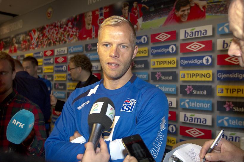 Eiður Smári Guðjohnsen.
