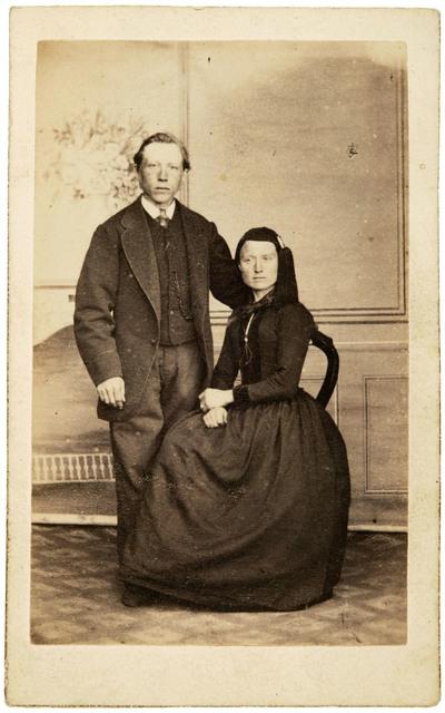 Guðný Halldórsdóttir from Grenjaðarstaður and her husband Benedikt Jónsson from ...