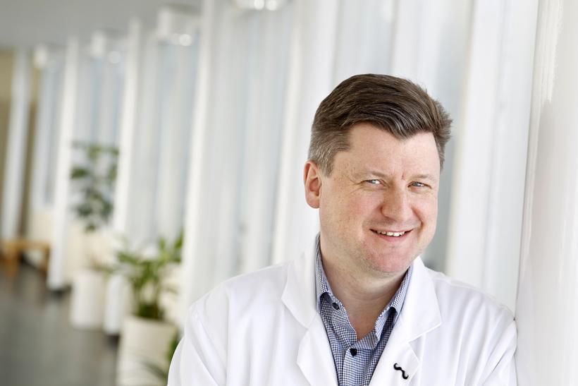 Gunnar Bjarni Ragnarsson, yfirlæknir lyflækninga krabbameina á Landspítalanum.