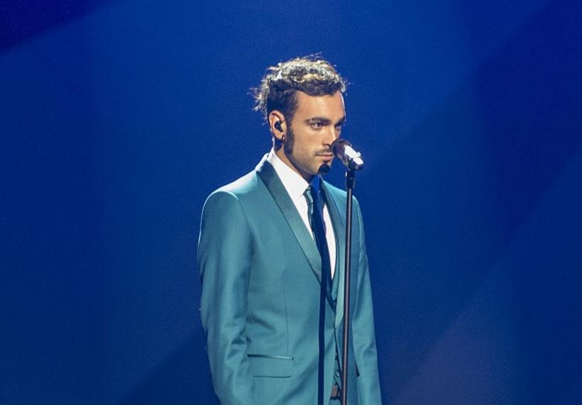 Marco Mengoni, representing Italy at the 2013 Eurovision Song Contest.