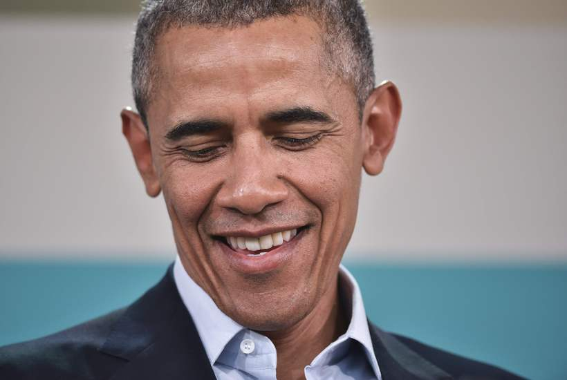 Barack Obama, Bandaríkjaforseti, segist viss um að Donald Trump verði ...