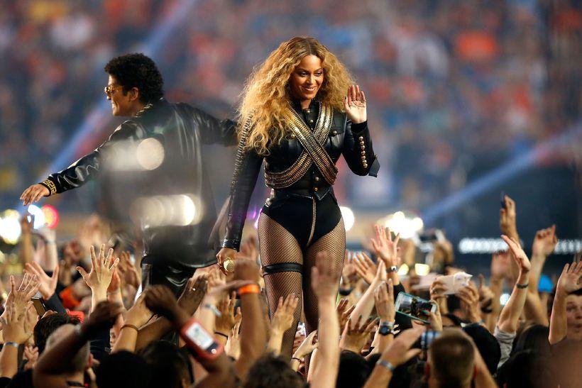Beyoncé tróð m.a. upp á Super Bowl á síðasta ári.