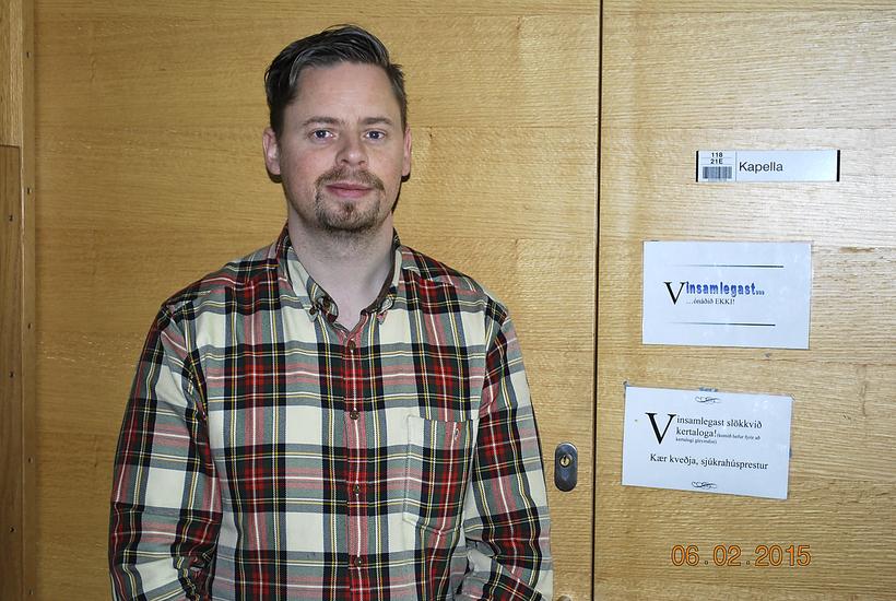 Vigfús Bjarni Albertsson, hospital chaplain.