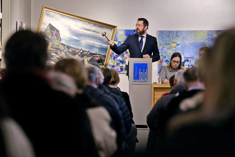 96 verk seldust á listmunauppboði hjá Galleríi Fold. Dýrasta verkið ...