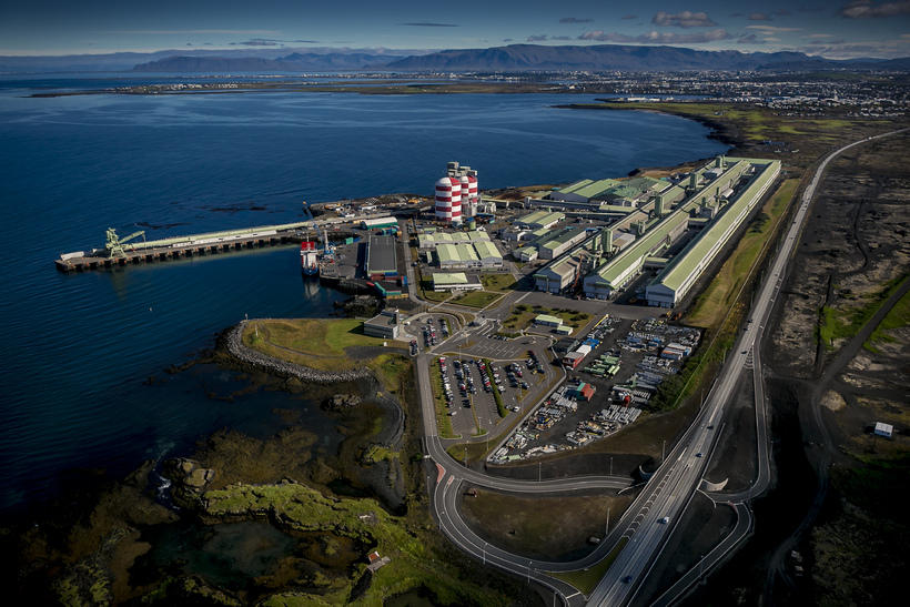 The aluminium plant is located in Straumsvík, about 15 minutes ...