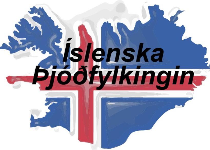 Íslenska þjóðfylkingin.
