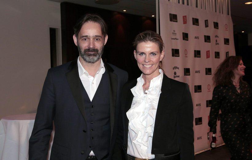 Director Baltasar Kormákur and his wife Lilja Pálmadóttir.