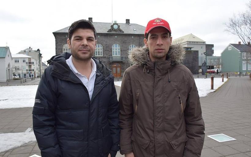 Ahmad Aldzasem Ibrahim og Wajden S. Rmmo