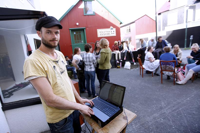 Halldór Ragnarsson missti allt í brunanum á Grettisgötu.