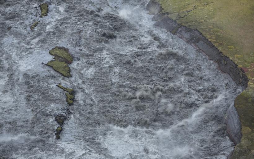 Varað er við vexti í ám á Snæfellsnesi, á Hvítársvæðinu ...