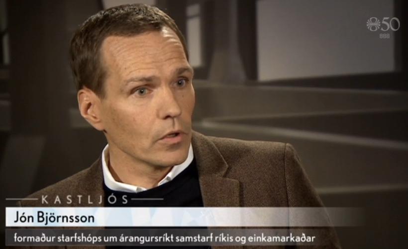 Jón Björnsson, formann starfshóps.