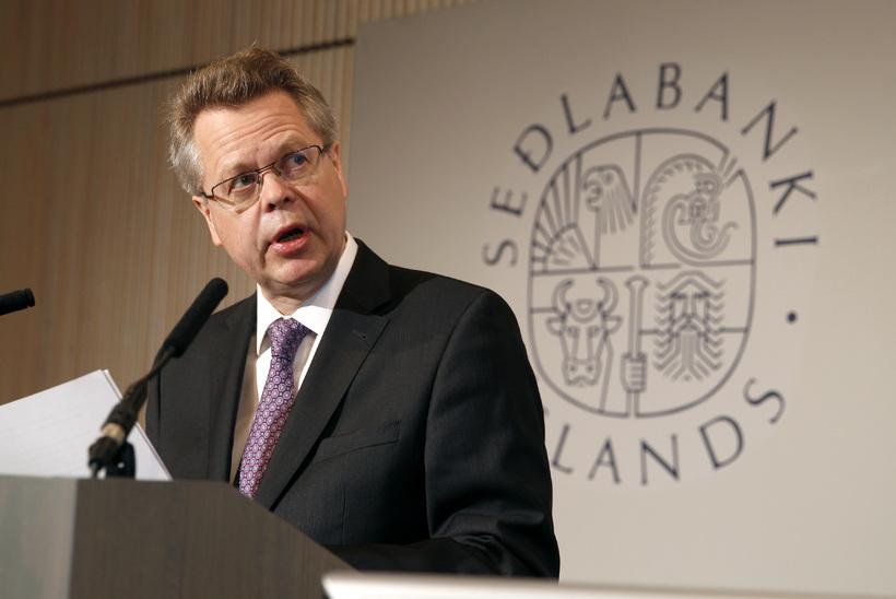 Már Guðmundsson, seðlabankastjóri.