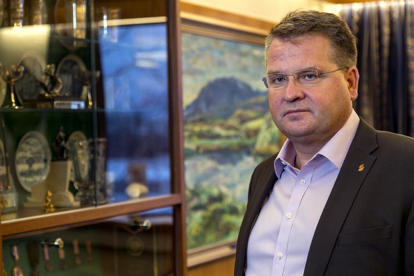 Lárus Blöndal, stjórnarformaður Bankasýslunnar.