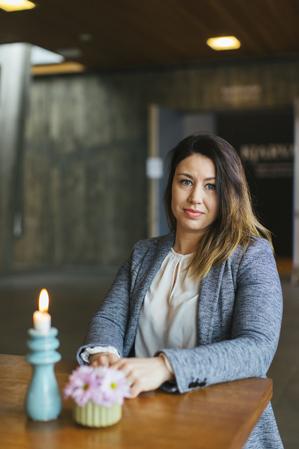 Guðrún Birna Sigmarsdóttir landslagsarkitekt.