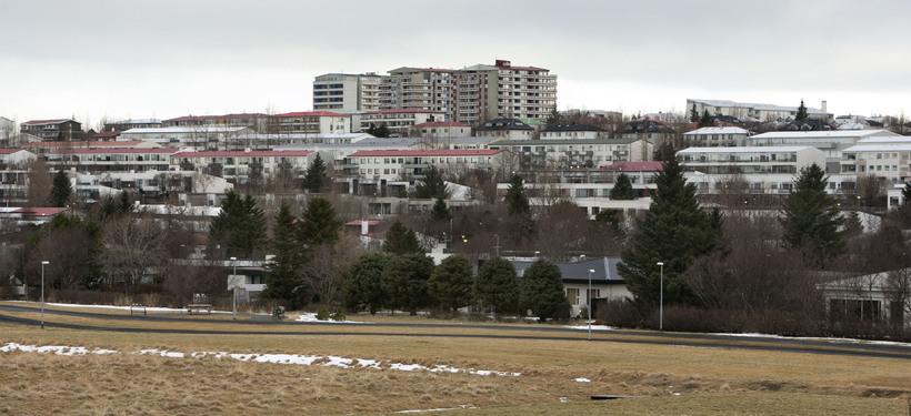 Fossvogurinn í Reykjavík.