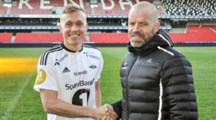 Guðmundur í búningi Rosenborg.