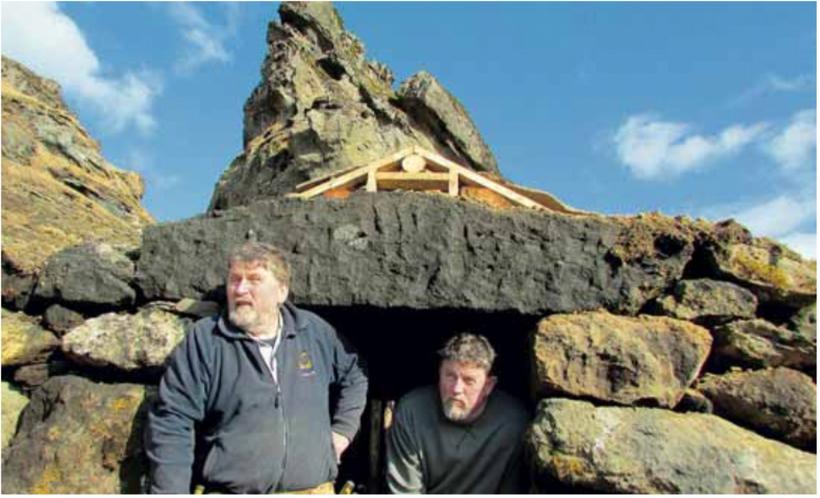 Þeir eru engin fuglabein bræðurnir Benjamín og Guðjón Kristinssynir enda ...