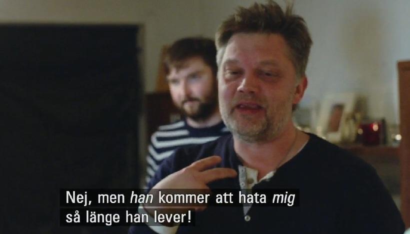 Jóhannes Kr. Kristjánsson í þættinum.